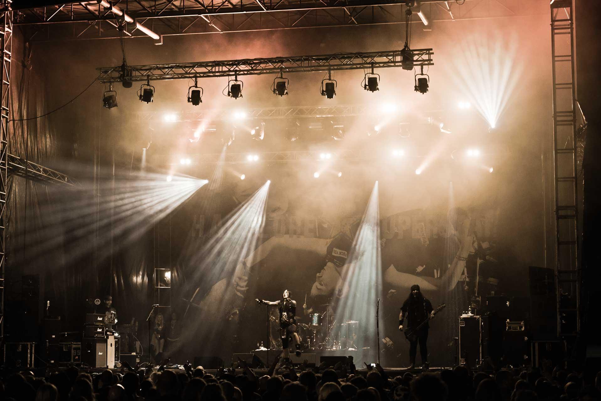 Hardcore Superstar - Helgeåfestivalen 2013